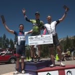 Tyler on top of the Crusher's overall podium