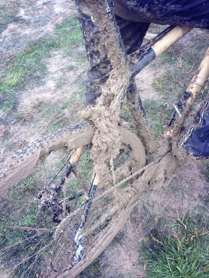 Got mud? The Cross of the North sure did!