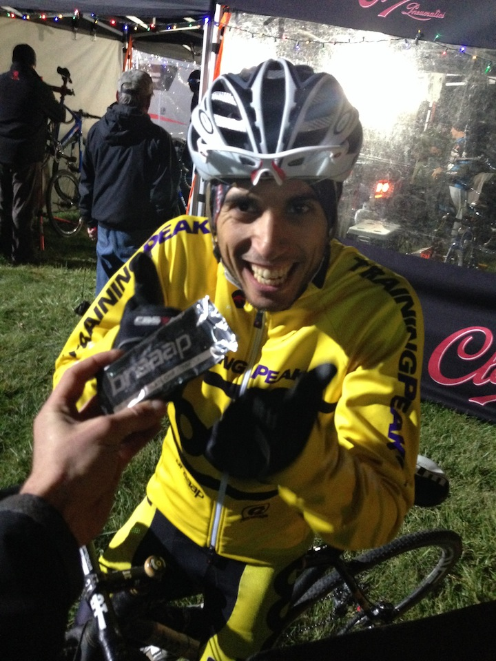 Rotem has been more than happy with his Braaap Nutrition Bars all season.