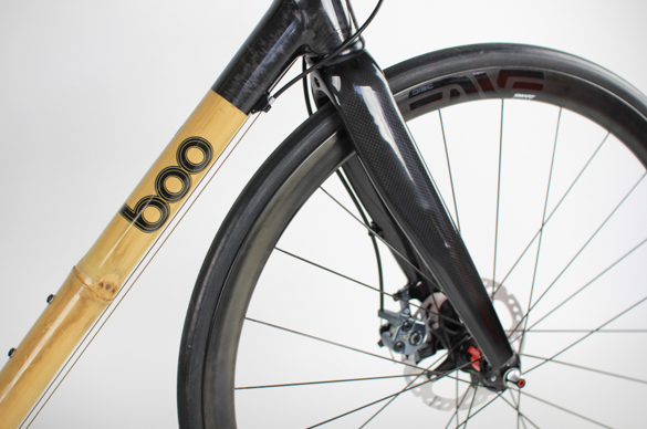 RS-R, bamboo bike, boo bicycles, carbon fork, hydraulic disc brakes