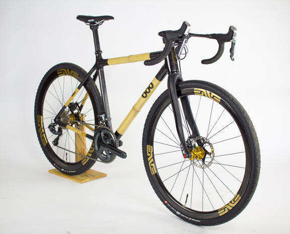 Boo Bicycles, SL Series, SL-G, thru-axle, custom geometry, bamboo bike, bamboo and carbon fiber, gravel bike