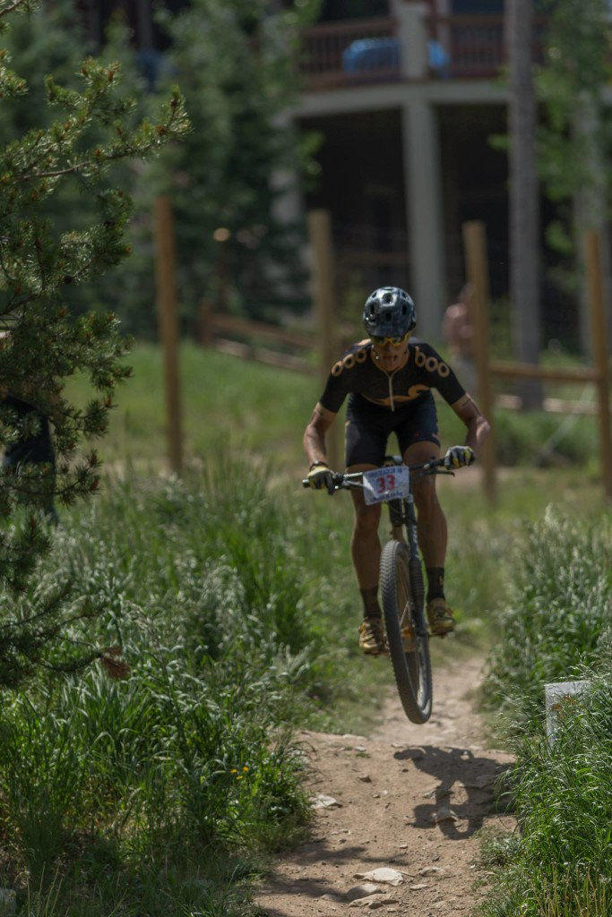 Living the Dream racing on dirt in Breckenridge, Colorado